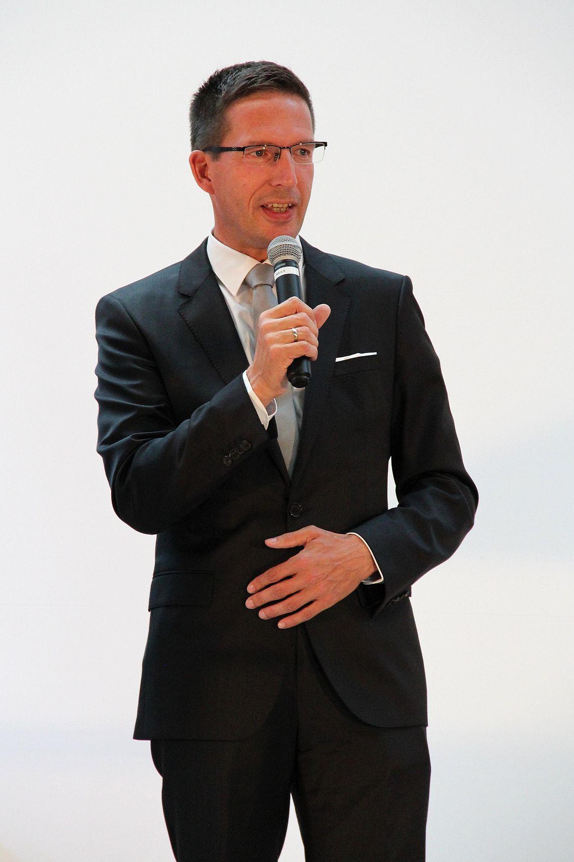 Bürgermeister Michael Abraham