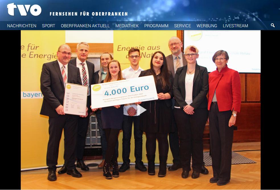 Preisverleihung Bürgerenergiepreis 2017
